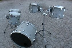 Vintage Canwood Maple Drum Shell Kit 22 16 14 12 10 Made In Canada