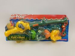 New Vintage Fisher Price Fish 'n Reel In Nib Condition Unopened