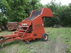 Avco New Idea 456 Bale King Round Hay Baler For Round Bales