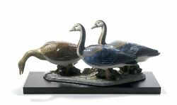 Lladro Retired Egyptian Geese 01012548