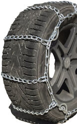 Snow Chains 3227 32x11.50-16 Lt Cam Tire Chains W/rubber Tensioners
