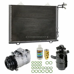 A/c Kit W/ Ac Compressor Condenser And Drier For Chrysler Crossfire 2004-2008
