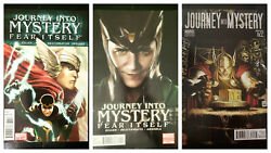 Journey Into Mystery 622 Lot Of 3 Cover A Nm 115 Variant Nm 2nd Print Vf/nm