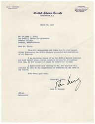 Kennedy John F. - Typed Letter Signed Regarding The Middle Eastern Situation