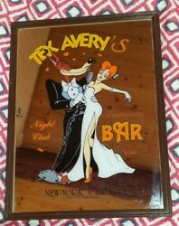 Extremely Rare Droopy Tex Avery with The Girl Dancing in Night Club Old Mirror