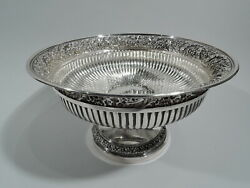 Bowl - 7125 - Antique Centerpiece Compote - American Sterling Silver