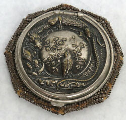 Rare Victorian Ear 1899 Pat Dragon And Sparo Hand Knotted Beaded Coin Purse