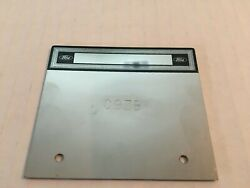 1969-1970 Concourse Ford Mustang Data Plates Serial Number Stamped C9 Zb