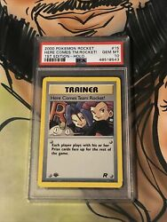 2000 Here Comes Team Rocket 1st Edition Holo