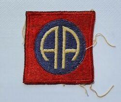 Wwii Vintage British Theater Made 82nd Airborne Division Uniform Sleeve Patch