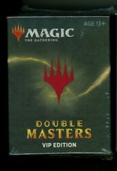 Mtg Magic The Gathering Double Masters Vip Edition Booster Pack Box New Sealed