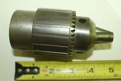 F Jacobs 58b 1-1/2 X 8 Pi Spindle Headstock Spindle Chuck 1/8and039and039- 5/8and039and039 Cap