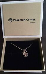 Pokemon Center Showers Veporeon Silver925 Necklace By Dhl From Japan