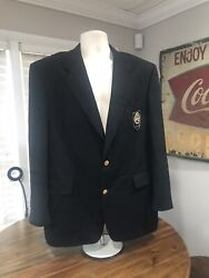Nba Basketball Hall Of Fame Jacket Authentic Owner Hart Schaffner And Marx Coat