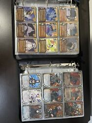 Naruto Cards Ccg Huge Lot Two Binders Full Too Many Pictures To Post All