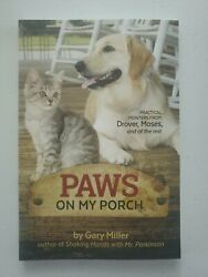 Paws On My Porch By Gary Miller Brand New