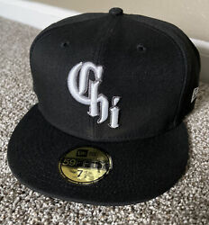 New Era Chicago White Sox City Connect 59fifty 5950 Fitted Hat Size 7 1/2