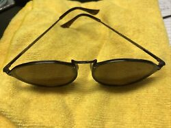 RB3574N Ray Ban Blaze ROUND Brown Mirror Lens Sunglasses 59mm MAKE OFFER