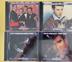 New And Sealed Time-life The Rock 'n' Roll Era Collection 53 Discs 1166 Tracks