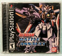 Gundam Battle Assault Sony Playstation 1 Ps1 2000 Complete - Tested