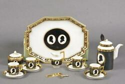 Royal Copenhagen - The Colonial Coffee Service Produced In Connection With Usaand039s