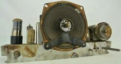 Vintage Zenith Antique Radio Tube Chassis 6g05 Parts Or Repair 49cz643