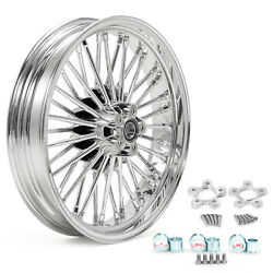 36 Fat Spoke 18x3.5 Front Wheel Spacers For Harley Touring Electra Street Glide