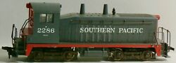 Vintage Athearn Ho Scale Southern Pacific 2286 Gray Sw7 Switcher Locomotive