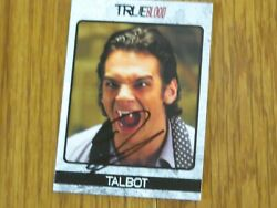 Theo Alexander Autographed Hand Signed Card True Blood Talbot