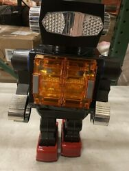 Sh Horikawa Battery Operated Super Giant Robot Vintage Space Tin Toy Japan 16