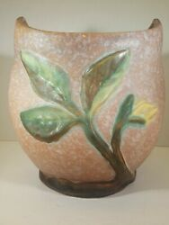 Malverne Weller Pottery Vase, 1920's, Incised Mark, Arts And Craft Period