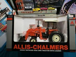 Allis Chalmers 6080 2wd And Loader 1/16 Farm Tractor Replica By Speccast Beautiful