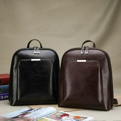 Women#x27;s Backpack Leather Laptop Rucksack Female Casual Large Capacity Popular $31.11