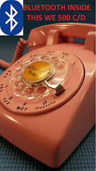 Now Pair This Pink Western Electric Bluetooth Telephone To Any Iphone/android