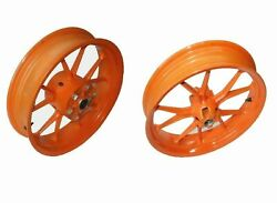 Nos Front And Rear Wheel Rim Set Fits Ktm Duke 390 Motorcycles New