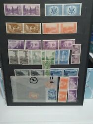 Us Stamps Collection Lot/ Mix Of Mint And Used Plus Covers And Post Cards