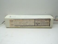 Vintage Advance 296-a40 Lead Lag Sign Ballast 2-4lamps T12 425ma Max 8-16ft