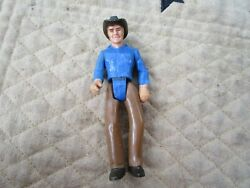 Vintage 1979 Tonka Toys Play People Action Figure Rodeo Cowboy 476 Toy