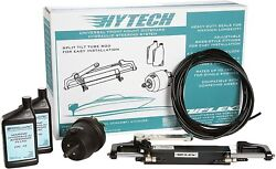 Uflex Hytech 1.0 Hydraulic Boat Steering Kit Up To150hp Helm Cylinder And Hoses