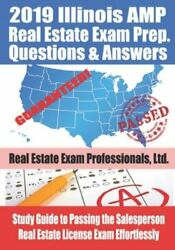 2019 Illinois Amp Real Estate Exam Prep Questions And Answers Study Guide To Pa