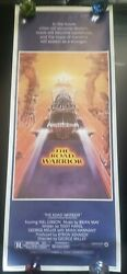 1991 Mad Max 2 Road Warrior Original Ss Rolled Movie Poster 14x36