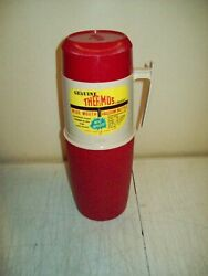 Thermos Brand Vacuum Bottle Usa Made 1 Quart King Seeley Thermos New Old Stock