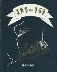 Uss Observation Island Eag-154 Deployment Cruise Book Year Log 1963-65 - Navy