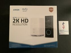 Eufy Security Wireless Video Doorbell Battery-powered With 2k Hd No Monthly
