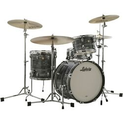 Ludwig Classic Maple 3-piece Downbeat Shell Pack W/20 In. Bass Vintage Blk Pr