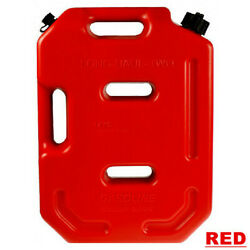 10l Gasoline Diesel Fuel Tank Can Pack For Offroad Suv Atv Motorcycle Tricycle