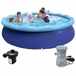 12 Ft X 30 Quick Set Inflatable Above Ground Pool. Inflatable Swimming Pools