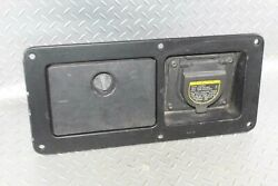 05-15 Tacoma Black Rh Right Passenger Rear Bed Storage Power Convertor Outlet Oe