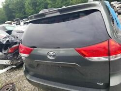 11-19 Toyota Sienna Oem Trunk Hatch Decklid Lift Gate Assembly Painted Green