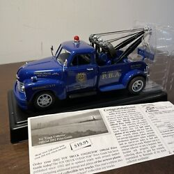 Taylor Made Trucks N.j.s.p.b.a Nj State Police Chevy Tow Truck 124 Diecast